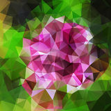 Abstract geometric background with polygons Stock Photos