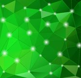 Abstract geometric background with polygons. Stock Images