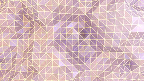 Abstract geometric background purple triangles and lines Royalty Free Stock Image