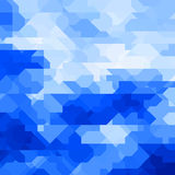 Abstract geometric background with random shapes Stock Photo