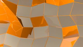Abstract geometric background with rectangles and lines royalty free illustration