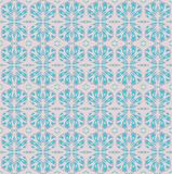 Seamless oval pattern turquoise and gray Stock Photos
