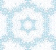 Seamless ornaments white turquoise. Abstract geometric background, seamless ornaments white and pastel blue, delicate and dreamy vector illustration