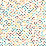 Abstract geometric background. Seamless pattern. Royalty Free Stock Image
