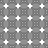 Abstract geometric background. Seamless pattern with square elements Royalty Free Stock Image