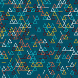 Abstract geometric background. Seamless pattern. Stock Photos