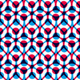 Abstract geometric background, seamless pattern Stock Photos