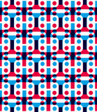 Abstract geometric background, seamless pattern Stock Photography
