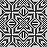 Abstract geometric background. Seamless pattern Royalty Free Stock Images