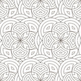 Abstract geometric background. Abstract geometric seamless pattern.Background for your design.Vector illustration Royalty Free Stock Photo