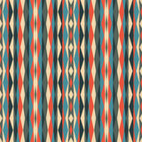 Abstract geometric background. Seamless vector pattern. Ornament illustration with vertical stripes Royalty Free Stock Images