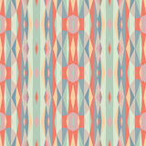 Abstract geometric background. Seamless vector pattern. Ornament illustration with vertical stripes.  Stock Images