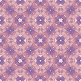 Abstract Geometric Background - Seamless Vector Pattern in pink, lilac and violet colors. Ornament mosaic creative illustration Stock Photography