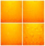 Abstract geometric background set Stock Photo