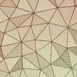 Abstract geometric background with shaded triangles. Material de. Abstract geometric background with shaded triangles. Vector texture in warm colors. Brown Stock Photography