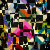 Abstract geometric background, Royalty Free Stock Photos