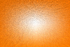 Abstract geometric background stacked orange cube Royalty Free Stock Image