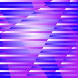 Abstract geometric background with stripes and rays. royalty free illustration