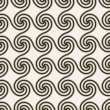 Abstract geometric background with swirls. Stock Images