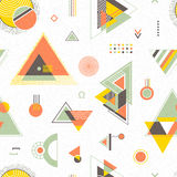 Abstract geometric background. Trendy seamless pattern Royalty Free Stock Photography