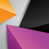 Abstract geometric background with triangle shapes Royalty Free Stock Images