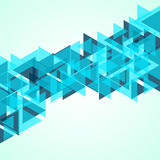 Abstract geometric background. With  triangles. Modern style. Vector illustration Royalty Free Stock Photo