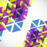 Abstract geometric background. With  triangles. Modern style. Vector illustration. Eps 10 Royalty Free Stock Photography