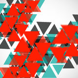 Abstract geometric background with triangles. Modern style. Vector illustration. Eps 10 Royalty Free Stock Photos