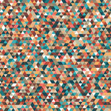 Abstract geometric background  triangles Stock Photography