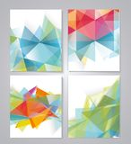 Abstract geometric background for use in design Stock Image