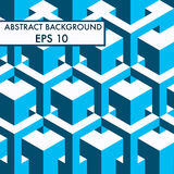 Abstract geometric background in vector. EPS 10 Stock Image
