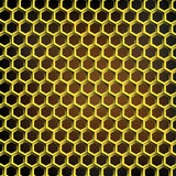 Abstract geometric background. Vector geometric background honey comb shape Stock Photos