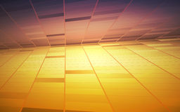 Abstract geometric background. Vector Illustration Stock Image