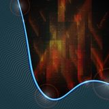 Abstract Geometric Background. Royalty Free Stock Photo