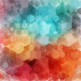 Abstract geometric background. Vector illustration. Stock Images