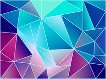 Abstract geometric background vector image stock images