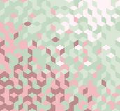 Abstract geometric background. Vector abstract geometric background in retro colors vector illustration