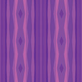 Abstract geometric background in violet color. Seamless vector pattern Stock Photography