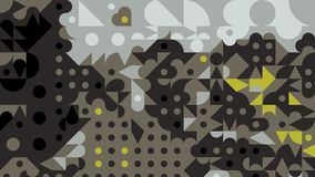 Abstract Geometric background wallpaper Royalty Free Stock Photography