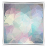 Abstract Geometric Background With Triangular Polyg Royalty Free Stock Images