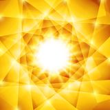 Abstract geometric background with yellow Stock Photo