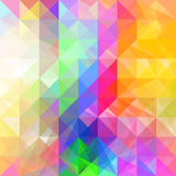 Bright triangles. Royalty Free Stock Photography