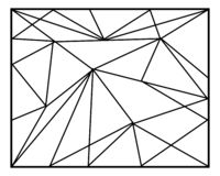 Abstract Geometric backgrounds in lines, Polygonal vector design. Polygonal background stock illustration