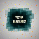 Abstract geometric banner for Business Presentations. Art background. Royalty Free Stock Photography
