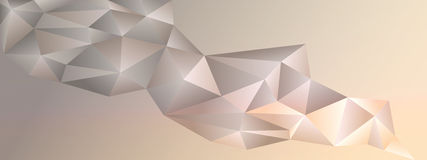 Abstract geometric banner Royalty Free Stock Photography