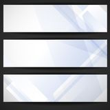 Abstract Geometric Banner. Stock Image