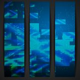 Abstract Geometric Banner. Royalty Free Stock Photos