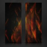 Abstract Geometric Banner. Stock Photography