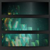 Abstract Geometric Banner. Stock Photos