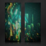 Abstract Geometric Banner. Vector Illustration. Eps 10 Stock Photography